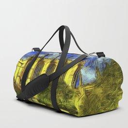Eton College Chapel Vincent Van Gogh Duffle Bag