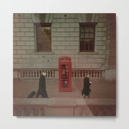 London's Red Phone Box. Metal Print