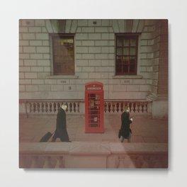 London's Red Phone Box. Metal Print