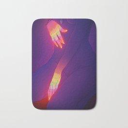 Glowing Hands 3 Bath Mat