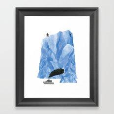 The Living Iceberg Cousin Framed Art Print