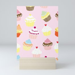 Cupcakes Party Artwork Mini Art Print