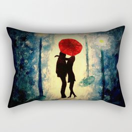 The Kiss Rectangular Pillow