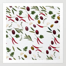 Mediterranean Art Print