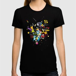 Sound System Space T-shirt