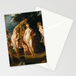 Peter Paul Rubens - The Judgment of Paris Stationery Cards