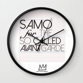 Basquiat Wall Clock