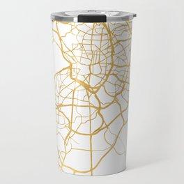 MADRID SPAIN CITY STREET MAP ART Travel Mug