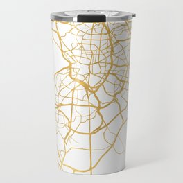 MADRID SPAIN CITY STREET MAP ART Travel Mug