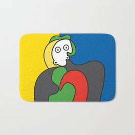 Ooh Zoo – art-series, Picasso Bath Mat