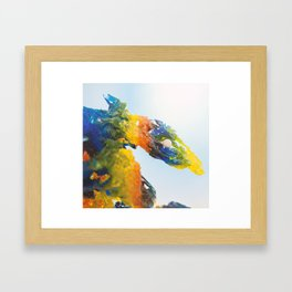 Dragon Born Framed Art Print