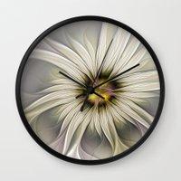 blossom Wall Clocks featuring Blossom by gabiw Art
