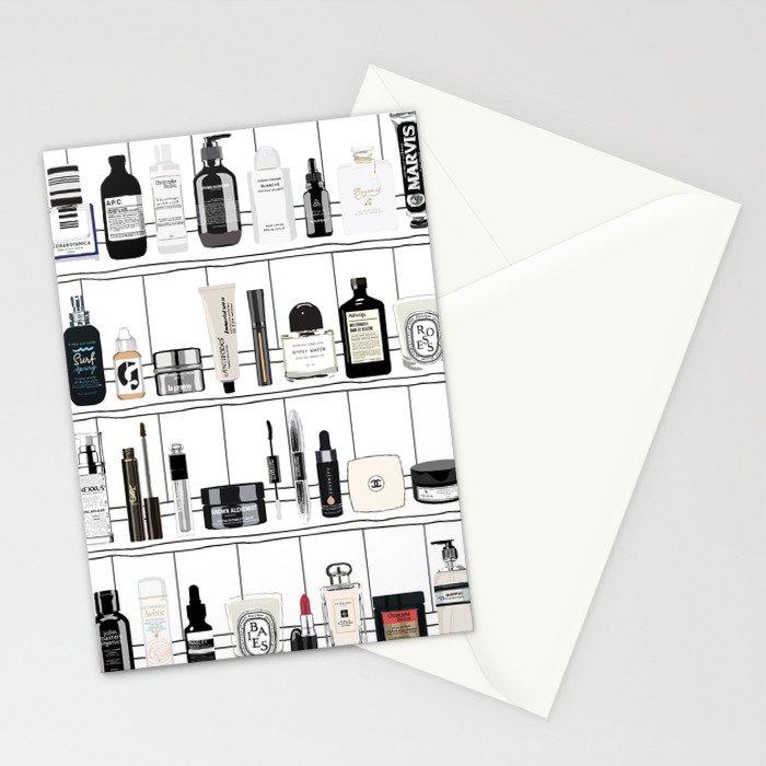 The Black & White shelf Stationery Cards