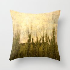 Light in the Grasses Throw Pillow