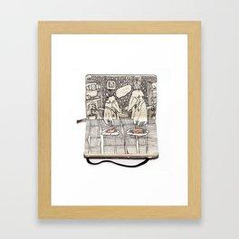 The Last Supper (Raven) Framed Art Print