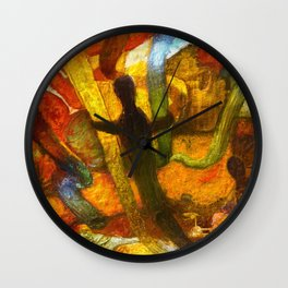 Embracing our differences Wall Clock