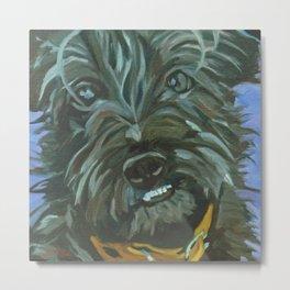 Otis the Wonder Dog Metal Print