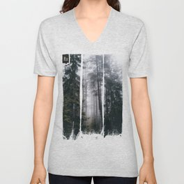 Into the forest we go Unisex V-Neck