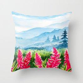 Spring scenery #9 Throw Pillow