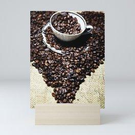 coffee art Mini Art Print