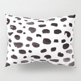 Dalmation Spots Painted Watercolor Pattern Pillow Sham