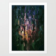Castles in Hyperspace Art Print