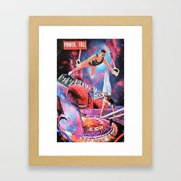 Power Full Move Framed Art Print