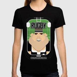Rugby Black - Ruck Scrumpacker - Bob version T-shirt