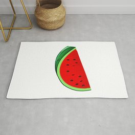 I Carried A Watermelon Tropical Summer Vibes Fruit Rug