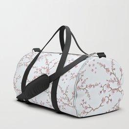 SAKURA LOVE - GRUNGE WHITE Duffle Bag