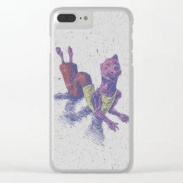 Weirdo W Clear iPhone Case