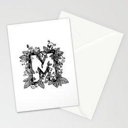 Leafy M Stationery Cards
