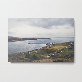Uig, Isle of Skye, Scotland Metal Print
