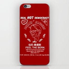Bernie Sanders Sriracha Style Feel The Bern iPhone Skin