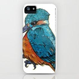 L'il Lard Butt - The Kingfisher iPhone Case