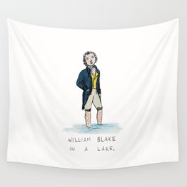 William Blake in a Lake Wall Tapestry