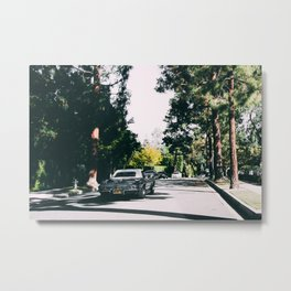 Los Angeles street Metal Print