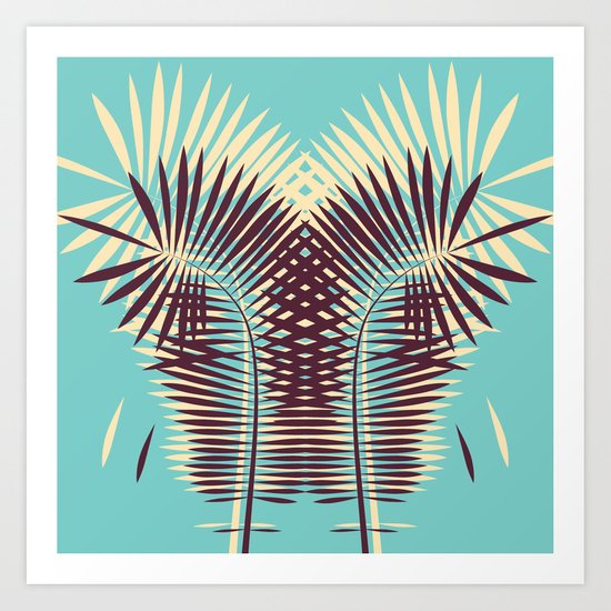 the palm of my hands Art Print