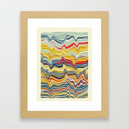 lines II Framed Art Print