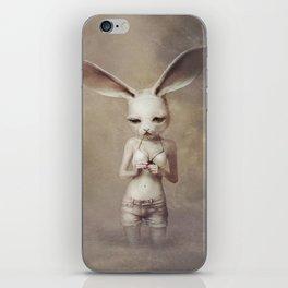 rabbit_3 iPhone Skin