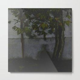 La sombra Metal Print