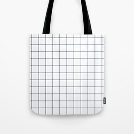 Chek - check grid simple minimal black and white modern urban brooklyn nashville hipster gifts Tote Bag
