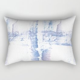 Lavender blurred wash drawing design Rectangular Pillow