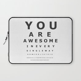 You are awesome ! Laptop Sleeve