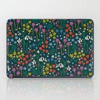 garden iPad Cases featuring Botanical Garden  by Anna Deegan
