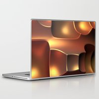 copper Laptop & iPad Skins featuring Copper Toned by Lyle Hatch