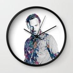 Rick Grimes Wall Clock