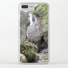 Waterfall - Barranquitas, Puerto Rico Clear iPhone Case