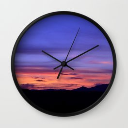 Southwest Sunrise Wall Clock