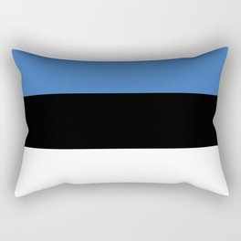 Flag of Estonia - Estonian,Eest,Baltic,Finnic,Sami, Skype,Arvo Part,Tallinn,Tartu, Narva,Snow, Cold Rectangular Pillow
